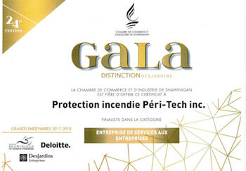 Gala Distinction - Péri-Tech
